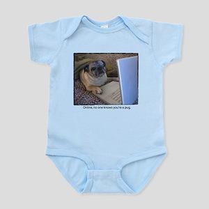 Online Pug Infant Bodysuit