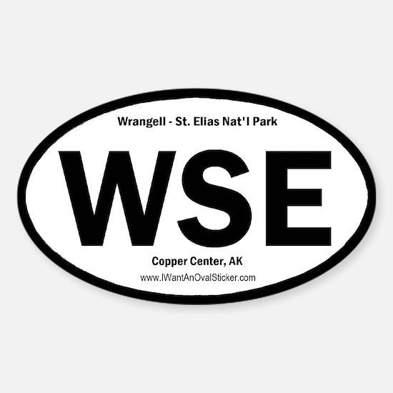 Wrangell-St. Elias Oval Decal