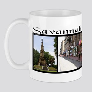 """Savannah"" 3 photo collage Mug"