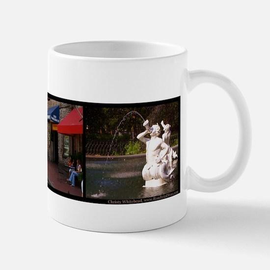"""""""Savannah"""" 3 photo collage Mug"""