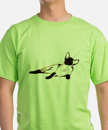 Laid Back Siamese wide T-Shirt