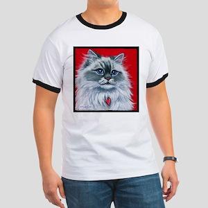 """Ragdoll Cat """"Mia"""" Ringer T"""