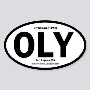 Olympic Oval Sticker
