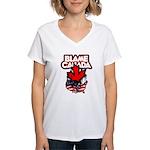 Blame Canada Women's V-Neck T-Shirt