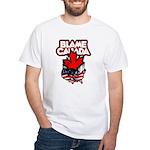 Blame Canada White T-Shirt