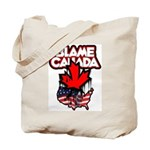Blame Canada Tote Bag