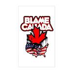 Blame Canada Sticker (Rectangle)