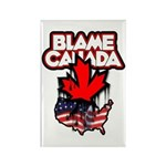 Blame Canada Rectangle Magnet