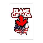 Blame Canada Mini Poster Print