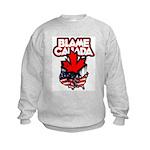 Blame Canada Kids Sweatshirt
