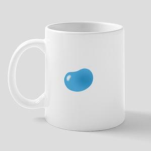 just blue jellybean Mug