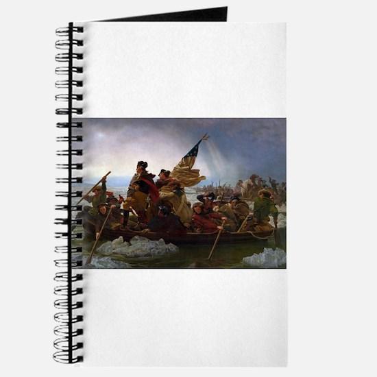 Washington Crossing the Delaware E Gottlie Journal