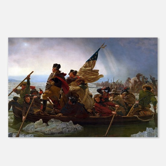 Washington Crossing the D Postcards (Package of 8)