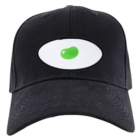 just green jellybean Black Cap