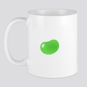 just green jellybean Mug