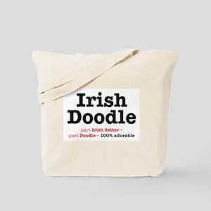 Irish Doodle - Dog Tote Bag