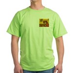 Aztec Design 1 Green T-Shirt