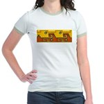 Aztec Design 1 Jr. Ringer T-Shirt