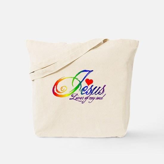 Jesus Lover of my soul primar Tote Bag