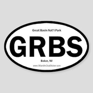 Great Basin Oval Sticker