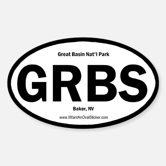 Great Basin Oval Decal