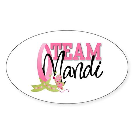 Team Mandi Sticker (Oval)