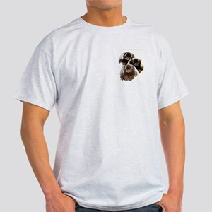 pekingese group Ash Grey T-Shirt