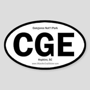 Congaree Oval Sticker