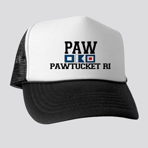 Pawtucket RI - Nautical Design Trucker Hat