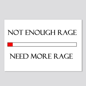 Not Enough Rage Postcards (Package of 8)