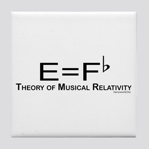 Musicality Tile Coaster