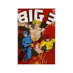 $4.99 Classic Big 3 Comics Magnet