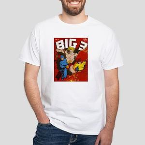 $19.99 Classic Big 3 Comics White T