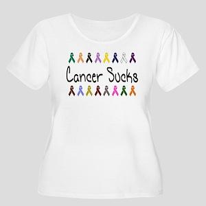 2-CancerSucks Plus Size T-Shirt