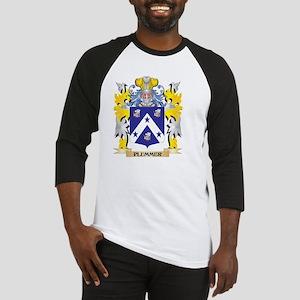 Plummer Family Crest - Coat of Arm Baseball Jersey