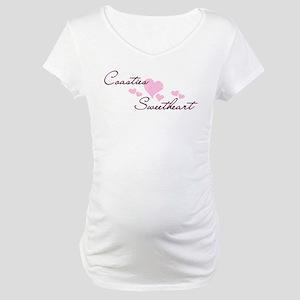 Coasties Sweetheart Maternity T-Shirt