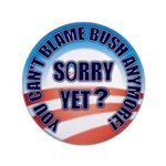 "Sorry Yet? 3.5"" Button"