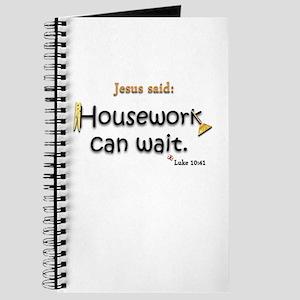 Jesus Said Housework Can Wait Journal