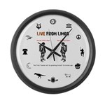Live From Limbo - Large Wall Clock