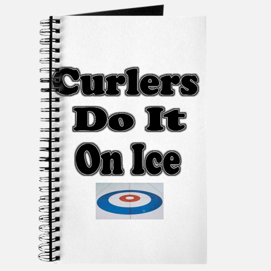 Curlers Do It On Ice Journal