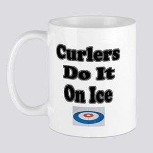 Curlers Do It On Ice Mug