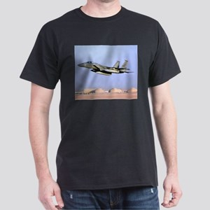F15 Eagle Black Military Gift T-Shirt