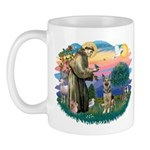St. Fran #2/ German Shepherd (P) Mug