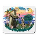 St. Fran #2/ German Shepherd (P) Mousepad