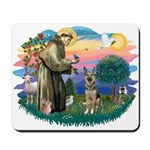 St. Fran #2/ German Shepherd (P) Mousepad