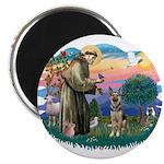 St. Fran #2/ German Shepherd (P) 2.25