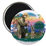 St. Fran #2/ German Shepherd (P) 2.25