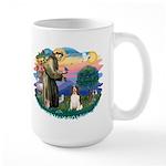 St. Fran #2/ English Springer (liver) Large Mug