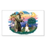 St. Fran #2/ English Springer (liver) Sticker (Rec
