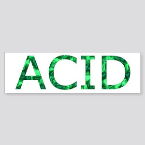 Green Acid Sticker (Bumper)